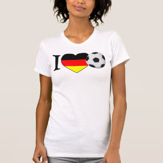 """I Love football"" Germany Girls shirt"