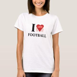 I Love Football Humor T-Shirts