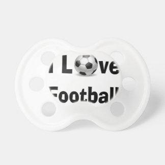 I Love Football Pacifier
