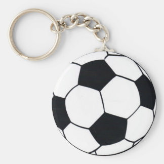 I LOVE FOOTBALL (SOCCER) KEYCHAIN