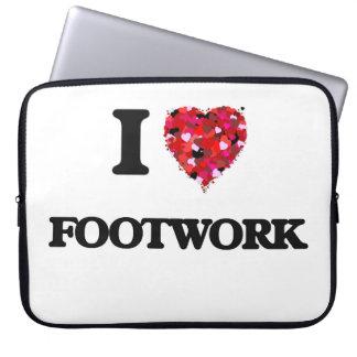 I Love Footwork Computer Sleeve