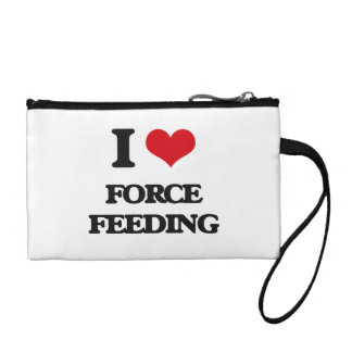 i LOVE fORCE fEEDING Coin Wallets