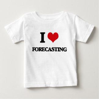i LOVE fORECASTING T Shirts