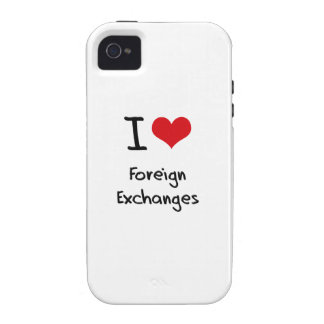 I Love Foreign Exchanges Case For The iPhone 4