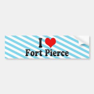 I Love Fort Pierce, United States Bumper Sticker