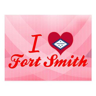 I Love Fort Smith, Arkansas Postcard
