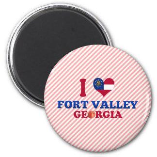 I Love Fort Valley, Georgia Magnet