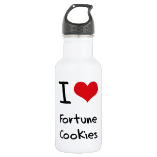 I Love Fortune Cookies 532 Ml Water Bottle
