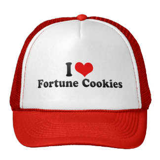 I Love Fortune Cookies Trucker Hat