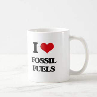 i LOVE fOSSIL fUELS Coffee Mug