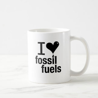 I Love Fossil Fuels Mug