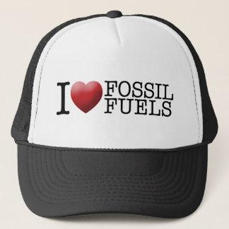 I love fossil fuels trucker hat