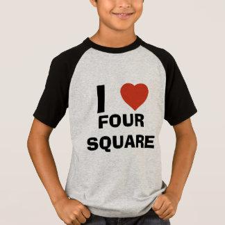 I love four square T-Shirt