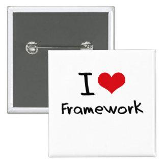 I Love Framework Pins