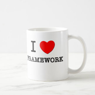 I Love Framework Mugs