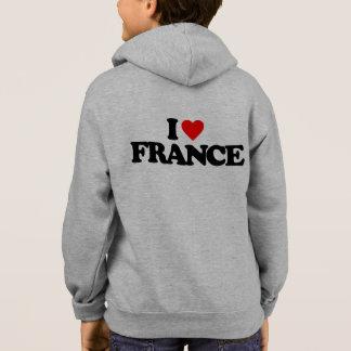I LOVE FRANCE HOODIE