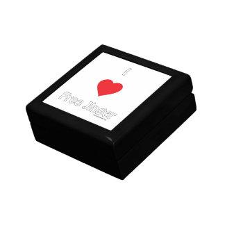 I love Free Jinger Trinket Box