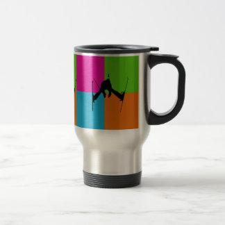 I love freestyle skiing - homeware travel mug