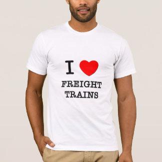 I Love Freight Trains T-Shirt