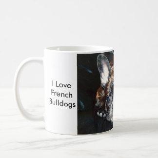 I love French Bulldogs Coffee Mug