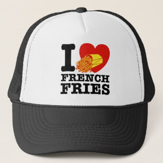 I Love French Fries Trucker Hat