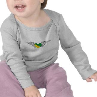 I Love French Guiana -wings Tees
