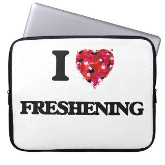 I Love Freshening Laptop Computer Sleeve