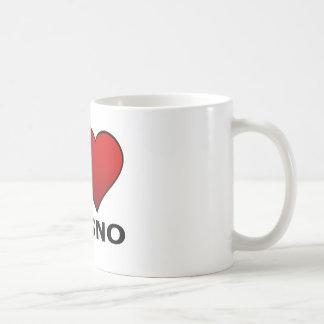 I LOVE FRESNO, CA - CALIFORNIA COFFEE MUG