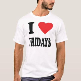 I love fridays icon T-Shirt