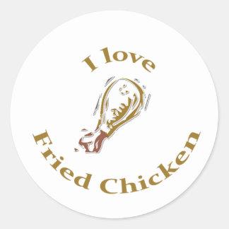 I Love Fried Chicken Sticker