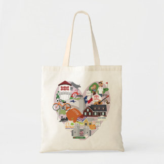 I LOVE Frisco Texas Cute Tote Bag