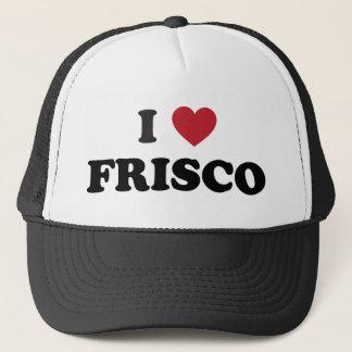 I Love Frisco Texas Trucker Hat
