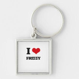 I love Frizzy Keychain
