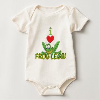 I Love Frog Legs! Baby Bodysuit
