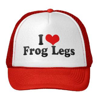 I Love Frog Legs Trucker Hat