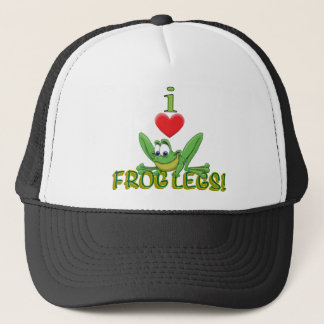 I Love Frog Legs! Trucker Hat