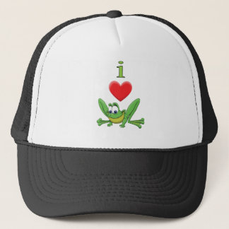 I Love Frogs! Trucker Hat