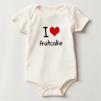 I Love Fruitcake Baby Bodysuit