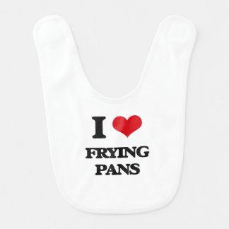 I love Frying Pans Bib