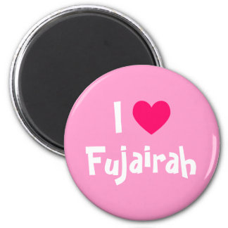 I Love Fujairah Magnet