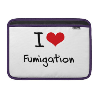 I Love Fumigation MacBook Air Sleeves