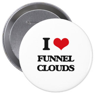 I love Funnel Clouds Button