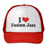 I Love Fusion Jazz Hat