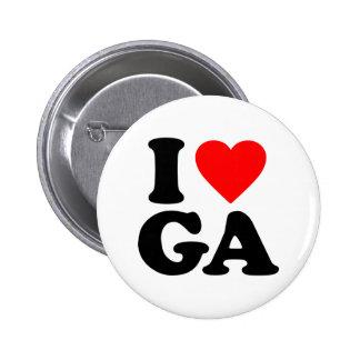 I LOVE GA PINS