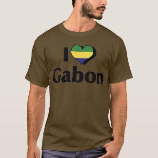 I Love Gabon Flag T-Shirt