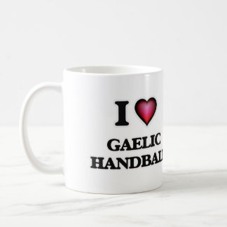 I Love Gaelic Handball Coffee Mug