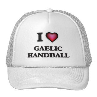 I Love Gaelic Handball Trucker Hat