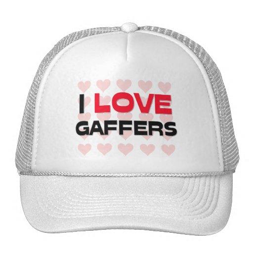 I LOVE GAFFERS MESH HATS