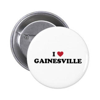I Love Gainesville Florida 2 Inch Round Button