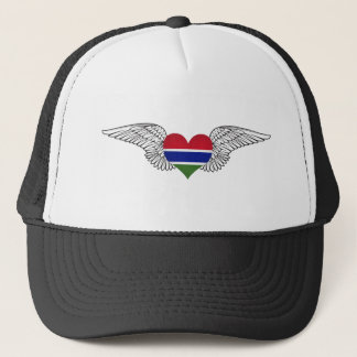 I Love Gambia -wings Trucker Hat